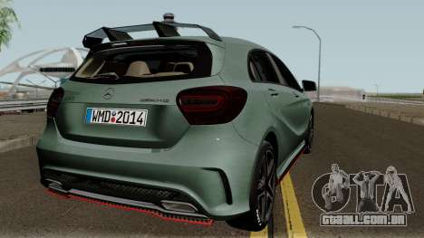 Mercedes-Benz A45 Edition 1 para GTA San Andreas vista direita