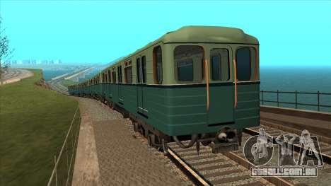 Os carros do tipo Ezh em Kiev Modernização para GTA San Andreas