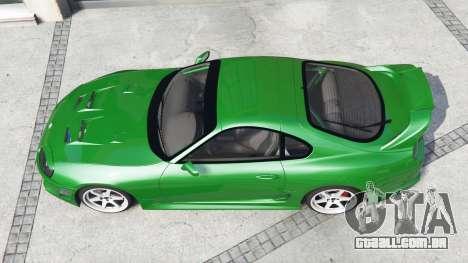 GTA 5 Toyota Supra Turbo (JZA80) [add-on] voltar vista
