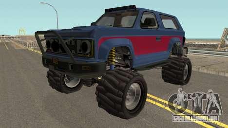 Vapid Riata GTA V para GTA San Andreas