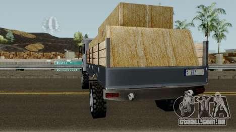 Farm GAZ 66 Low-poly para GTA San Andreas