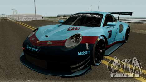 Porsche 911 RSR 2018 para GTA San Andreas