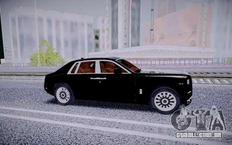 Rolls Royce Phantom 2018 para GTA San Andreas