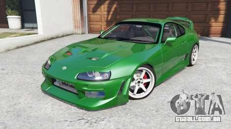 GTA 5 Toyota Supra Turbo (JZA80) [add-on] vista lateral direita