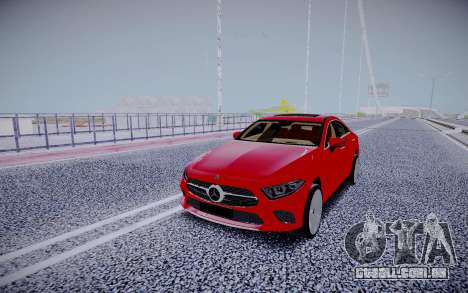 Mercedes-Benz CLS450 4matic 2018 para GTA San Andreas