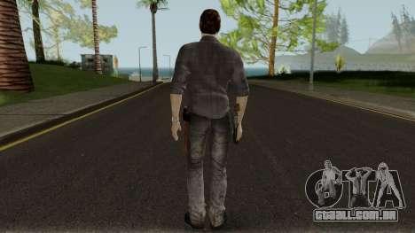 The Walking Dead Rick Grimes Movie Mod V1 para GTA San Andreas