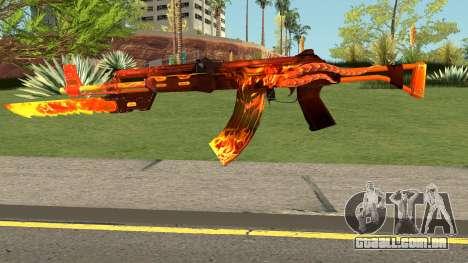 Rules Of Survival AK47 para GTA San Andreas