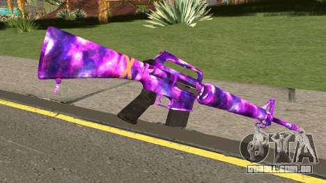 Call of Duty Black Ops 3: M16 para GTA San Andreas