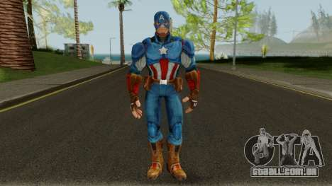 Captain America From Marvel Strike Force para GTA San Andreas