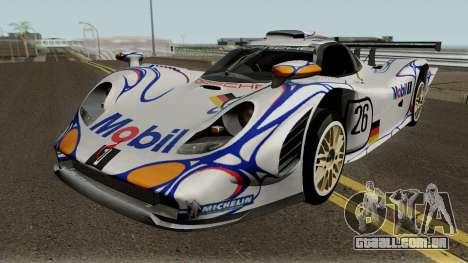 Porsche 911 GT1 1998 para GTA San Andreas