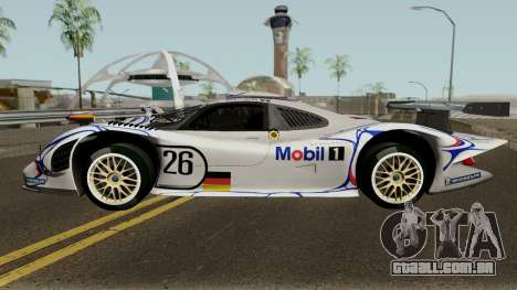 Porsche 911 GT1 1998 para GTA San Andreas esquerda vista