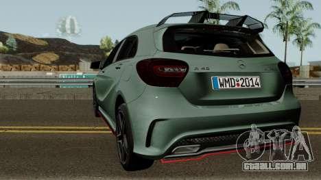 Mercedes-Benz A45 Edition 1 para GTA San Andreas