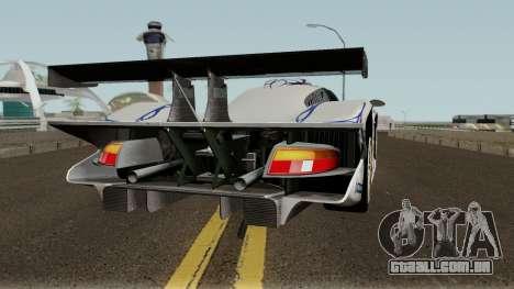 Porsche 911 GT1 1998 para GTA San Andreas vista direita