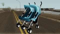 Double Baby Stroller para GTA San Andreas