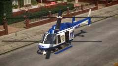 NYPD Police Maverick para GTA 4