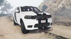 Dodge Durango SRT Mopar 2018 v1.9.1 [replace] para GTA 5