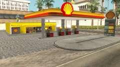 Shell Gas Station Updated para GTA San Andreas