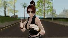 Mai Shiranui (Short Leather) From Dead or Alive para GTA San Andreas