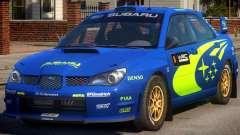Subaru Impreza WRX STi PJ1 para GTA 4