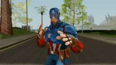 Captain America From Marvel Strike Force para GTA San Andreas