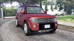 Mitsubishi Pajero LWB 2007 v1.1 [replace] para GTA 5
