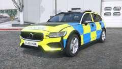 Volvo V60 T6 2018 Police [ELS] [replace] para GTA 5