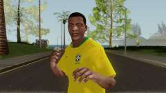 Franklin Brazil World Cup para GTA San Andreas