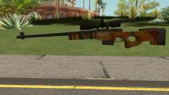 The Walking Dead Andrea Comic Weapon para GTA San Andreas