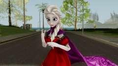 Elsa (Red Dress Mod) From Frozen Free Fall para GTA San Andreas