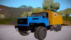 Próximo Ural 4320 Transporte de explosivos para GTA San Andreas