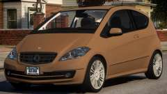 Mercedes Benz A 200 Turbo V1.4 para GTA 4