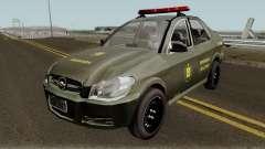 Chevrolet Prisma Brigada Militar para GTA San Andreas