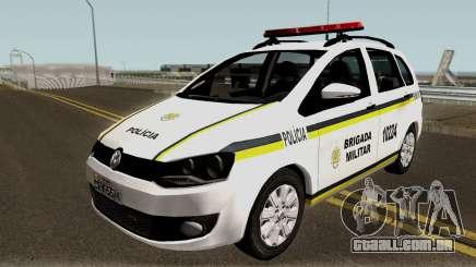 Volkswagen SpaceFox Police para GTA San Andreas