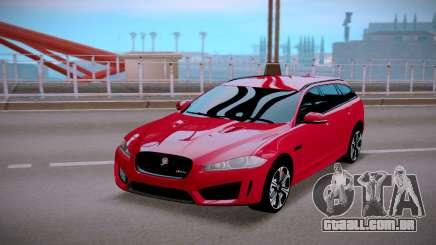 Jaguar XFR-S Sportbrake 2015 para GTA San Andreas