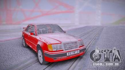 Mercedes-Benz W124 500E from Taxi 1 para GTA San Andreas