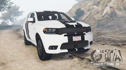 Dodge Durango SRT Mopar 2018 v1.9.1 [replace] para GTA 5
