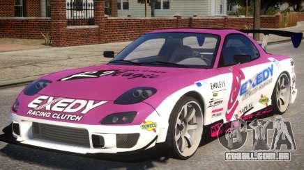 RX-7 Exedy Drift Car para GTA 4