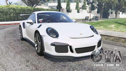 Porsche 911 GT3 RS (991) 2016 v2.0 [replace] para GTA 5