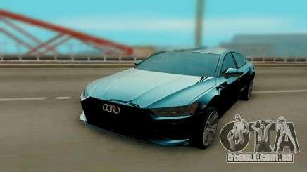 Audi A7 2018 para GTA San Andreas