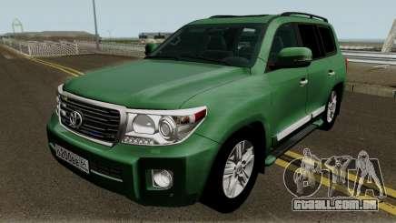 Toyota Land Cruiser 200 Government para GTA San Andreas