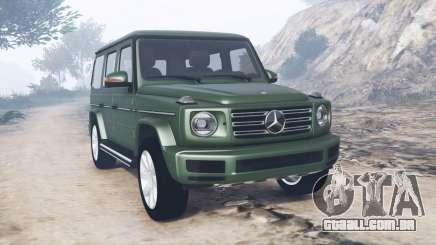 Mercedes-Benz G 500 (W463) 2018 [add-on] para GTA 5