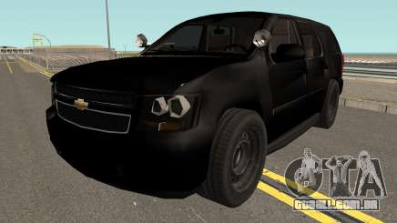 Chevrolet Tahoe SUV (Police Livery) Low-poly para GTA San Andreas