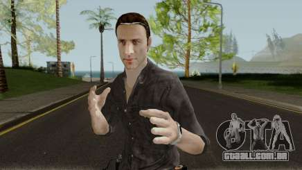 The Walking Dead Rick Grimes Movie Mod V1 para GTA San Andreas