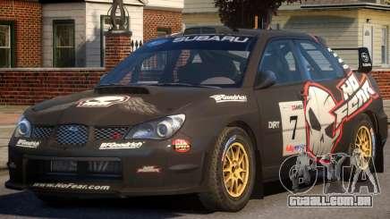 Subaru Impreza WRX STi PJ2 para GTA 4