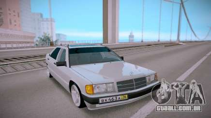 Mercedes-Benz 190E Classic para GTA San Andreas