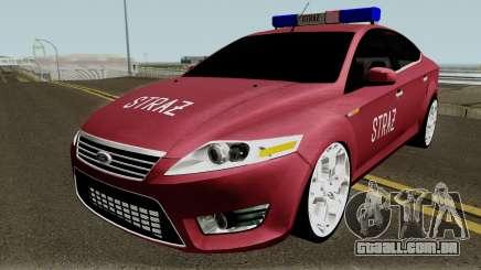 Ford Mondeo Polskiej Strazy Pozarnej para GTA San Andreas