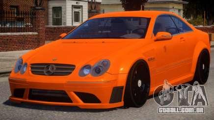 Mercedes Benz CLK63 V1.0 para GTA 4