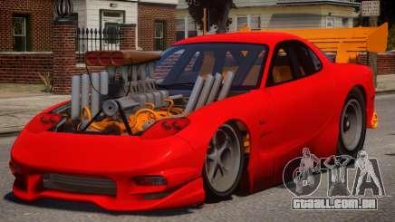 Mazda RX7 Dragster V1.1 para GTA 4