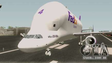 Airbus A300st Beluga FedEx para GTA San Andreas
