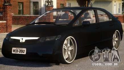 Honda New Civic para GTA 4